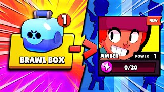 One Box.. One Legendary Brawler Amber..??  More Like One Offer!! Epic Amber Pull Twice!