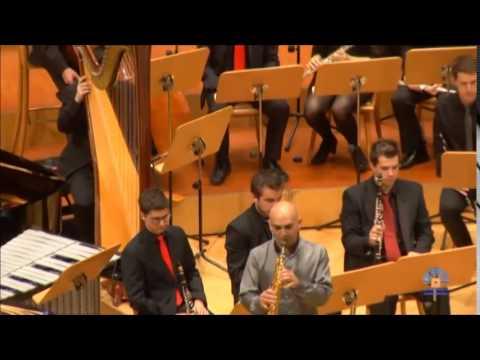 John Mackey soprano saxophone concerto. 2nd mov.