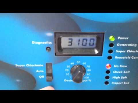 Goldline Aqua Rite Electronic Chlorine Generator Repair