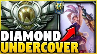 PRETENDING TO BE A SILVER RIVEN MAIN WHILE BEING COACHED! ** HE FREAKS OUT!