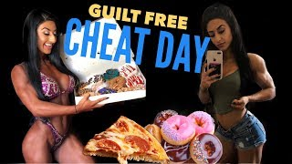 GUILT FREE CHEAT DAY!!! Eating Everything I wanted Post Show