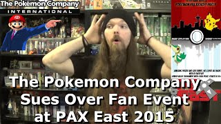 The Pokemon Company Sues Over Fan Event at PAX East 2015