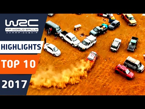 10 Top momentů ve WRC 2017