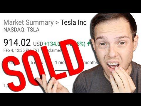 Why I Sold My Tesla Stock ... photo