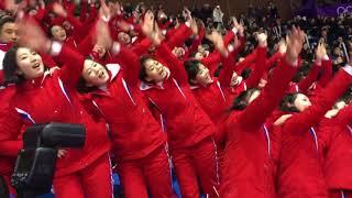 Noord-Koreaanse cheerleaders