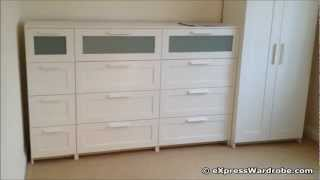 Ikea Brimnes 2 Door Wardrobe Design