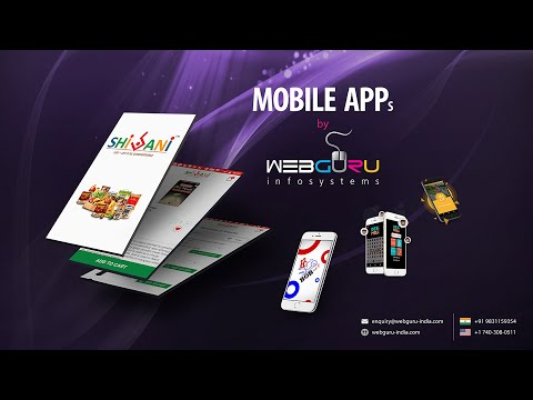 Mobile Apps by Webguru Infosystems