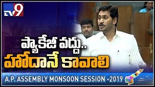 CM Jagan speech in AP Assembly..