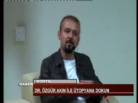 """KTV kanalında yayınlanan Dr. Özgür AKIN İle """"Ütopyana Dokun!"""" etkinliği konulu haber çalışması"""