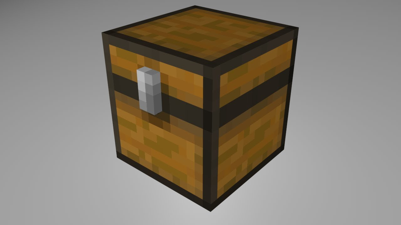 Minecraft Animation :: Chest Rig with Download (Cinema 4D ...