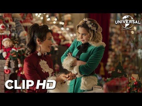 """LAST CHRISTMAS - Clip 7 """"Santa le dice a Kate su auténtico nombre"""""""
