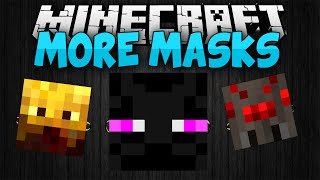 Minecraft Mods || MASK MOD!!! || Brand new masks!! || Mod Showcase [1.7.10]