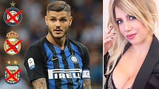 How did Mauro Icardi's career go from paradise to hell?