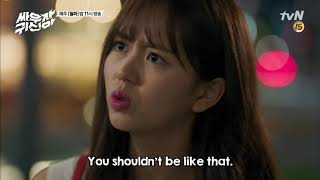 Kim So-hyun Is Jealous? - Let's Fight Ghost Ep. 13