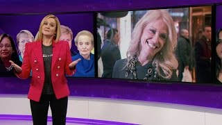 The Great Feminists in Feminism Herstory Hall of Lady Fame | Full Frontal with Samantha Bee | TBS