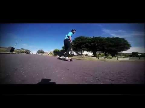 Video MINDLESS Longboard CORE PINTAIL Rouge Gum