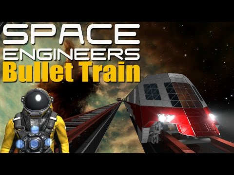 Baixar High Speed Bullet Train - SPACE ENGINEERS - Cinematic Movie