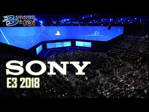 Conferencia Sony E3 2018 : Sony Streaming comentado en diferido