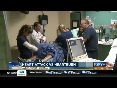 Heart attack vs hearburn - Medical Minute