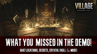 What You Missed In The Resident Evil Village Demo | Goat Locations & More