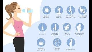 Uống nước đúng cách - Vui Sống Mỗi Ngày [VTV3 - 29.10.2012]