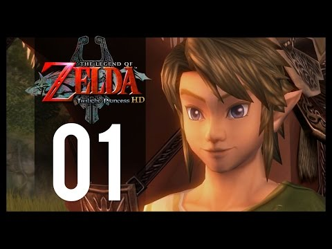 The Legend of Zelda: Twilight Princess HD Gameplay - Part 1 - Ordon Village