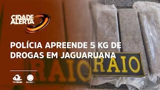Polícia apreende 5 kg de drogas em Jaguaruana