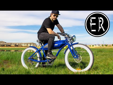 RETRO E-BIKE RIDES LIKE A CAFE RACER! Michael Blast Greaser electric bike review