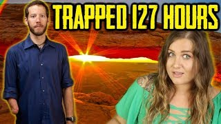 Stuck Under Boulder ALONE For 127 Hours! Aron Ralston Story
