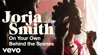 On Set with Jorja Smith: Talking Directors and Beauty Essentials for 'On Your Own'