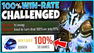 100% WIN-RATE XERATH GETS CALLED OUT! CAN HE 1V9 CARRY?! - League of Legends
