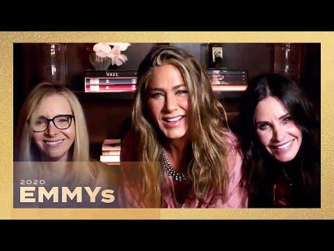Friends REUNION at 2020 Emmys! Jennifer Aniston, Courteney Cox and Lisa Kudrow