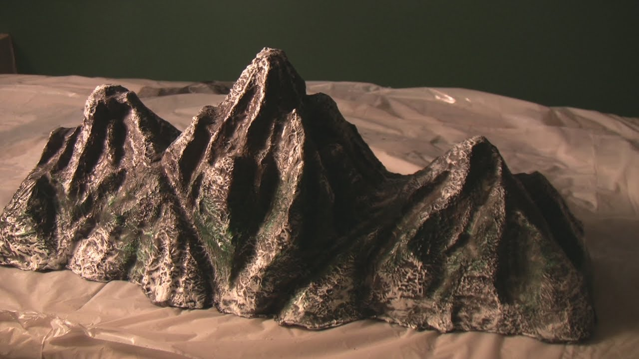 Mt Everest Rocky Mountains Hot Wire Model Making Youtube