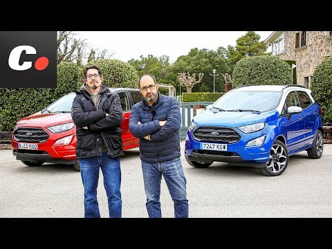 Ford EcoSport 2018 SUV | Gasolina vs Diesel 4x4 | Prueba / Test / Review en español | coches.net
