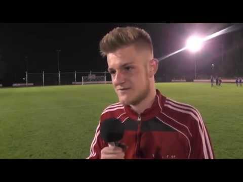 Philip Bröcker (TuRa Harksheide) und Till Mosler (TSV Uetersen) - Die Stimmen zum Spiel (TuRa Harksheide - TSV Uetersen, Landesliga Hammonia) -  ELBKICK.TV