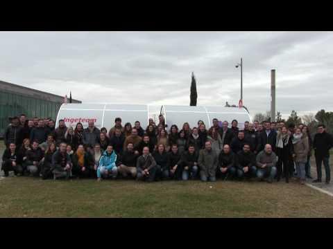 Los trabajadores de Ingeteam Service con AFANION en el partido de fútbol benéfico
