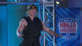 Logan Paul in American Ninja Warrior   Logan is Insane   MaDy's CreaTion