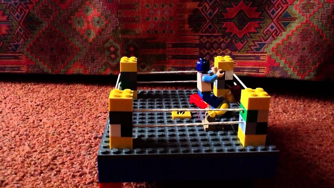 Lego Wwe Sin Cara And Bloodstone Vs Indy Youtube