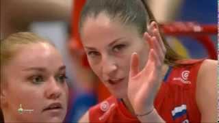Bán kết bóng chuyền nữ Vô Địch Châu Âu 2015: Nga vs Serbia