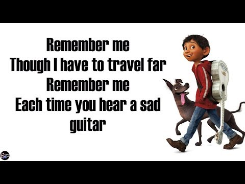 Miguel - Remember Me/Recuérdame  [Lyrics/Letra] From Disney Pixar's COCO