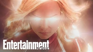 Captain Marvel Trailer Decoded: Brie Larson's Superhero Powers Up | Entertainment Weekly