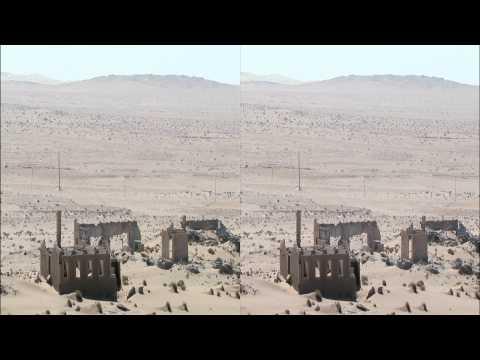 3net Forgotten Planet Namibia Clip 1 3D Video