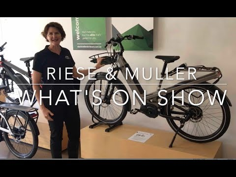 Riese & Muller E Bikes On Show @ Electric Bikes Brisbane