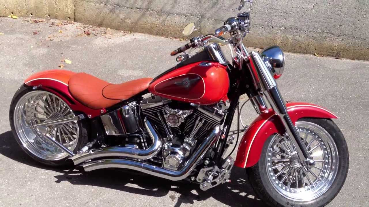 Softail Wide Tire Kits For Harley Davidson – Billy Knight