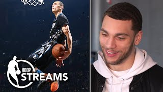 Zach LaVine relives the 2016 NBA Slam Dunk Contest vs. Aaron Gordon with Omar Raja | Hoop Streams