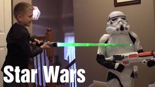 Nerf War: Star Wars - Stormtrooper Invasion