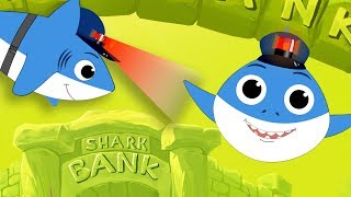 Baby Shark Police Song | Baby Car + T Rex + Plane Kids Songs Playlist by FunForKidsTV