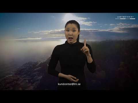 Lantmäteriet på teckenspråk