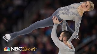 US Figure Skating Championship 2019: Ashley Cain and Timothy LeDuc's free skate   NBC Sports
