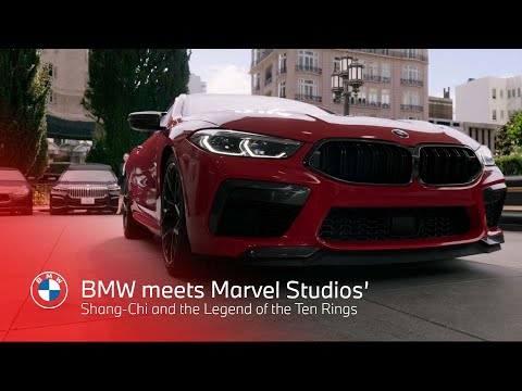 BMW meets Marvel Studios' Shang-Chi and the Legend of the Ten Rings